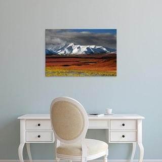 Easy Art Prints Michel Hersen's 'Alaska Range In Autumn' Premium Canvas Art