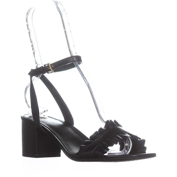 Michael by Michael Kors Bella Mid Flex Sandals, Black - 7 us / 37 eu