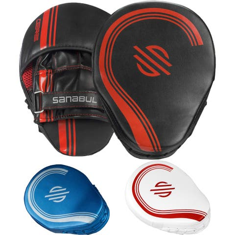 Sanabul Core Series Curved Boxing Punch Mitts - One Size
