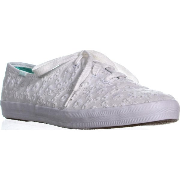 b890a5f98218a Shop Keds Champion Eyelet Flat Casual Sneakers
