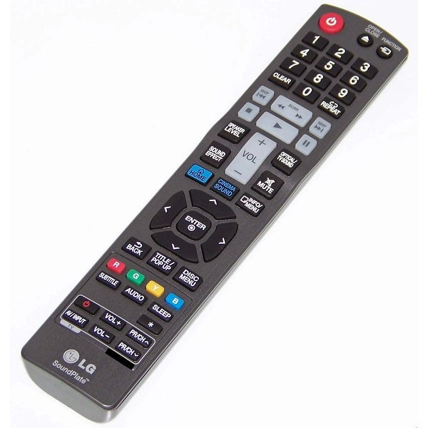 OEM LG Remote Control Originally Shipped With: LAB540W