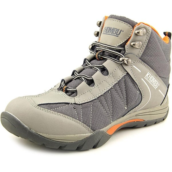 Khombu Hilary Women  Round Toe Leather Gray Hiking Shoe