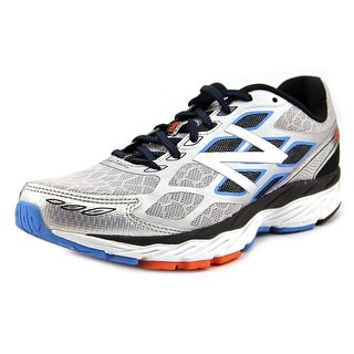 New Balance M880 Men B Round Toe Synthetic Silver Running Shoe