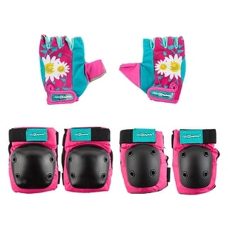 Kidzamo Youth Elbow/Knee Pad Set w/Gloves
