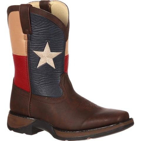 LIL' DURANGO®: Kids' Texas Flag Western Boot, style BT246