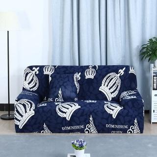 Unique Bargains Home Decor Polyester Stretch 1/2/3 Seats Sofa Slipcovers