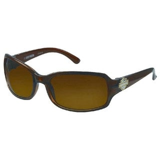 Harley-Davidson Womens Sun Lifestyle Brown w/ Brown Lens Sunglasses HDS5007BRN-1 - One size