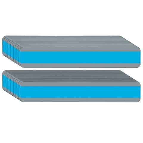 """Double Wide Sentence Strip Reading Guide, 1.25"""" x 7.25"""", Blue, Pack of 24 - One Size"""