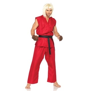 Sexy Ken Street Fighter Mens Halloween Costume