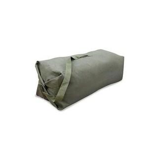 Stansport 1200 duffel bag w strap 25x 42 - olive drab