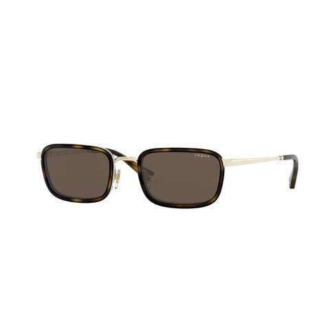 Vogue VO4166S 848/73 49 Pale Gold Woman Rectangle Sunglasses