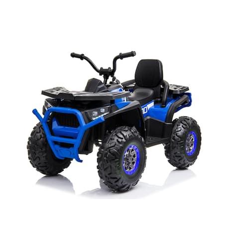 12V Ride On Blue ATV