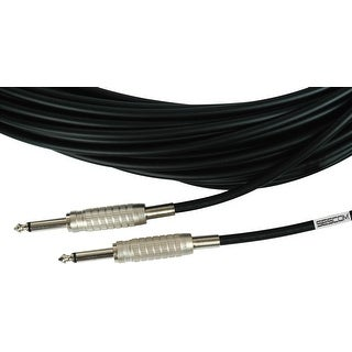 Sescom MSC25SS Audio Cable Mogami 1/4 Inch TS Male to Male