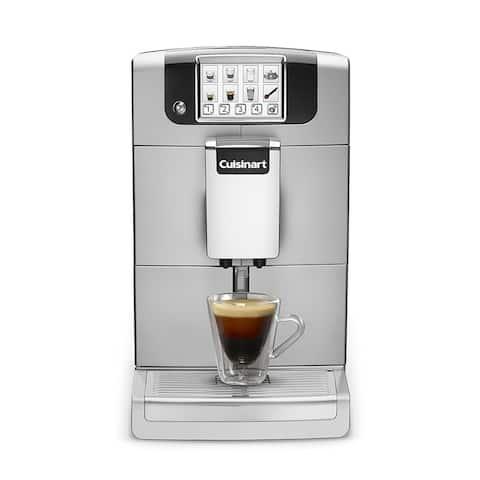 Cuisinart EM-1000 Espresso Defined Fully Automatic Espresso Machine, Silver