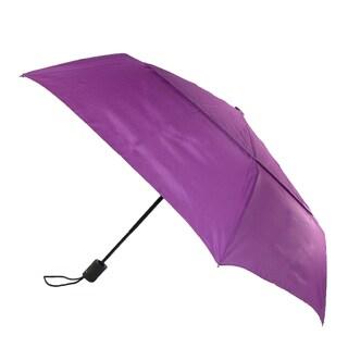 ShedRain Men's Auto Open & Close Vented Compact Umbrella (Option: hyacinth purple - One size)