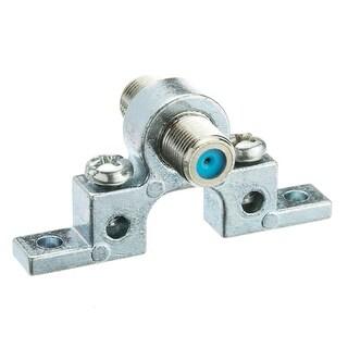 Offex F-pin Coaxial Grounding Block, 2.5 GHz, Single F-pin Female