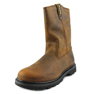 Caterpillar Revolver Wellington Steel Toe Leather Work Boot