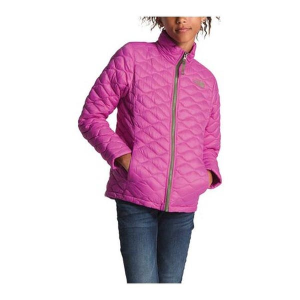 019b8f52e Shop The North Face Girls' Thermoball Full Zip Jacket Wisteria ...