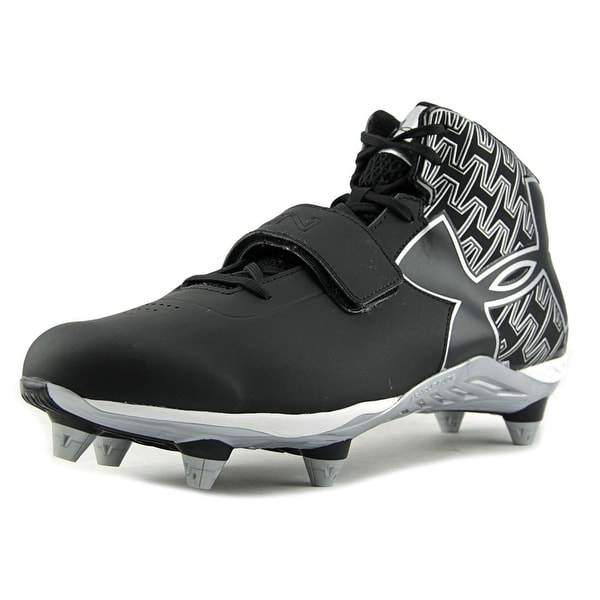 Under Armour C1N Mid D Football Cleats W Round Toe Synthetic Cleats