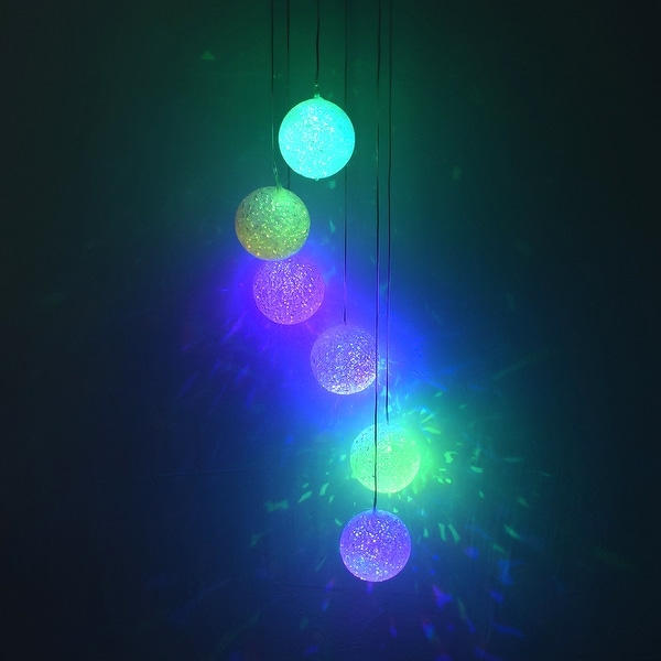 2V 40maH Solar Smart Light Control Wave Ball Wind Chime Style Corridor. Opens flyout.
