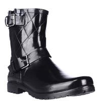Sperry Top-Sider Falcon Quilted Rain Boots, Black
