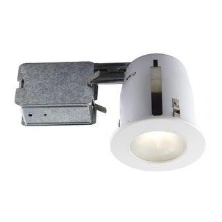 "Bazz Lighting 300-330 Serie 300 4.5"" GU10 Shower Trim Integrated Recessed Fixtur - White"