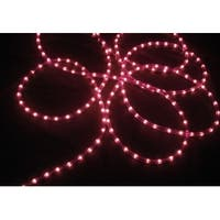 100' Purple Commercial Length Christmas Rope Light On a Spool