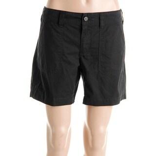 Lauren Ralph Lauren Womens Casual Shorts Cotton Belt Loop