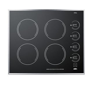 Summit CR424 24 Inch Electric Cooktop