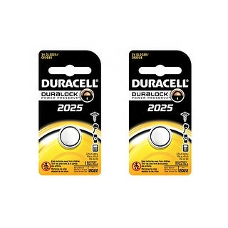 Battery for Duracell DLCR2025 (2-Pack) Replacement Battery