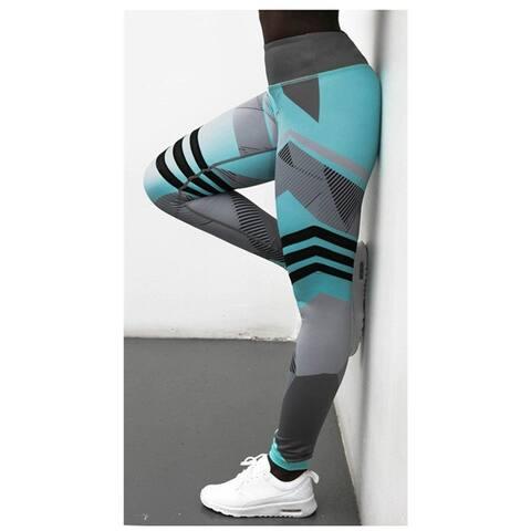 Printed Yoga Hips High Waist Leggings