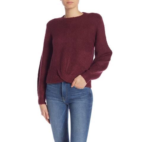 Joie Purple Blackberry Womens Size Medium M Crewneck Sweater