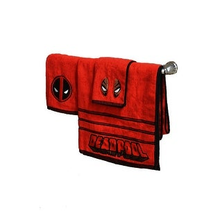 Marvel Deadpool 3 Piece Bath Towel Set