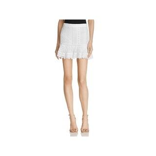 BB Dakota Womens Mini Skirt Lace Casual (4 options available)