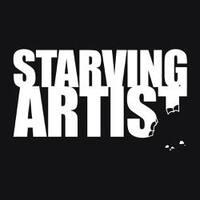 Starving Artist - Attitude Artist Apron Black