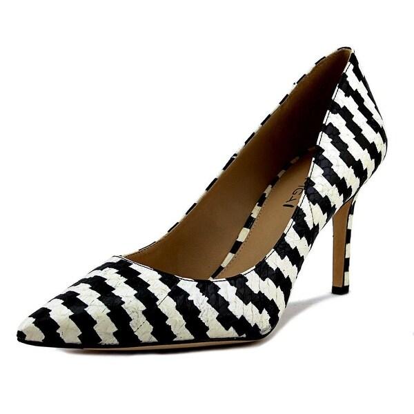 Via Spiga Carola Women Pointed Toe Leather Multi Color Heels