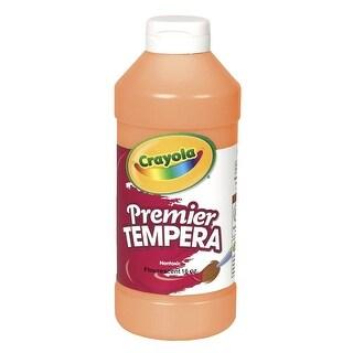 Crayola Premier Liquid Tempera Paint, 1 Pint, Orange