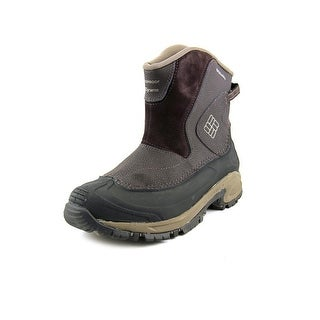 Columbia Bugaboot Slip   Round Toe Leather  Snow Boot