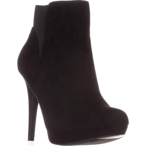 TS35 Briea Platform Ankle Boots, Black