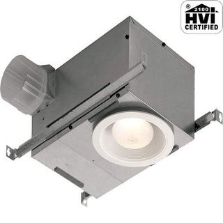 NuTone 744FLNT 70 CFM 1.5 Sone Ceiling Mounted Energy Star Rated and HVI Certifi
