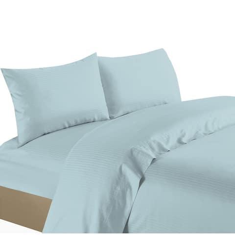 Porch & Den Greenburg Striped 1200 TC Egyptian Cotton Deep Pocket Bed Sheet Set
