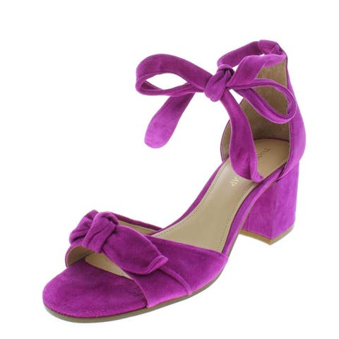 30e9d2f26a3 Ivanka Trump Womens Ezra Leather Open Toe Special Occasion Ankle Strap  Sandals