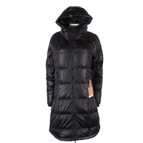The North Face TNF Women's Black ACROPOLIS Goose Down Parka Puffer Coat