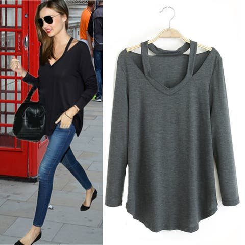 Cut Out To Lounge Easy Wear Top In 6 Colors