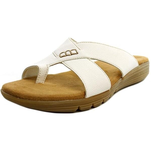 Aerosoles Adjustment White Sandals