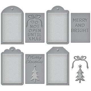Spellbinders Shapeabilities Dies-Christmas Tags