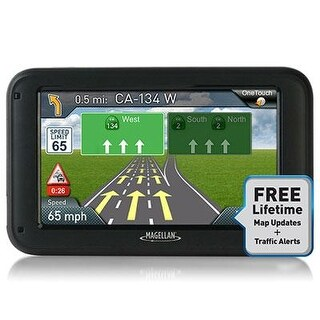 "Magellan Rm5375sgluc Roadmate 5375T-Lmb 5"" Gps Device With Bluetooth"