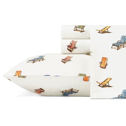 Tommy Bahama Cotton Printed Sheet Sets / Pillowcase Pairs