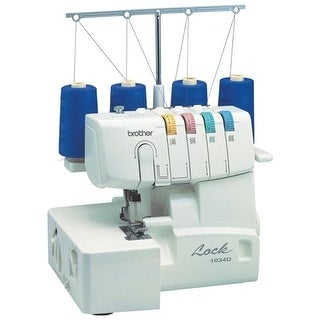 Brother Sewing - 1034D - Serger 3Or4 Thread Easy Lay In