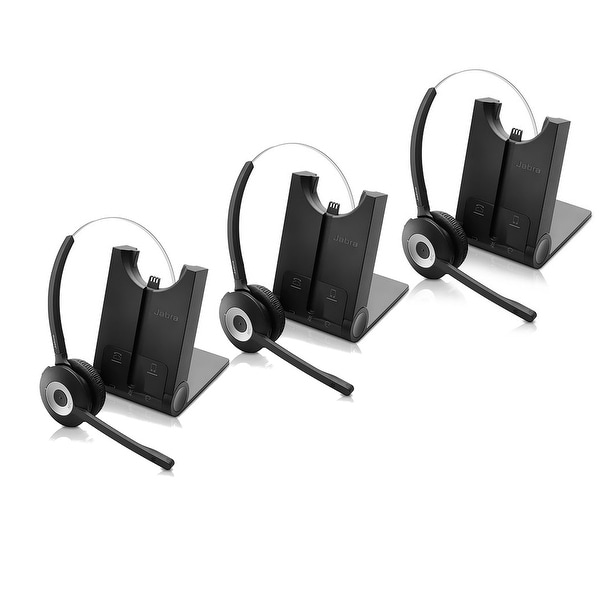 98168b5c797 Shop Jabra PRO 925 SC Mono Wireless Headset (3-Pack) w/ Noise ...